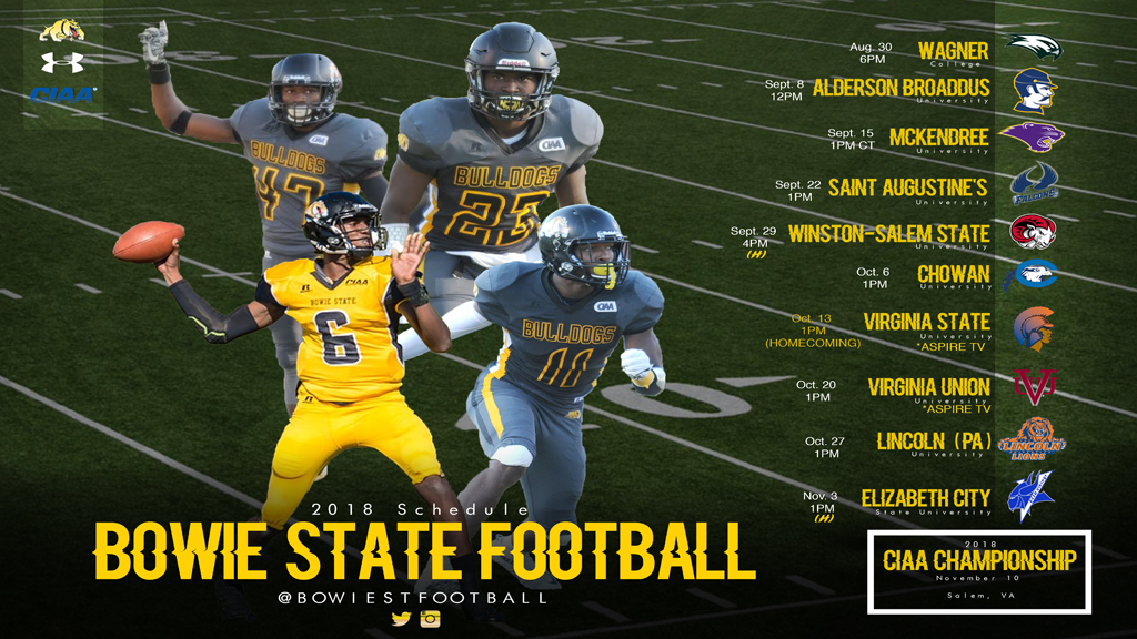 Bowie State Bulldogs Football Set To Begin Preseason Practice August 8th Bowie State University Athletics